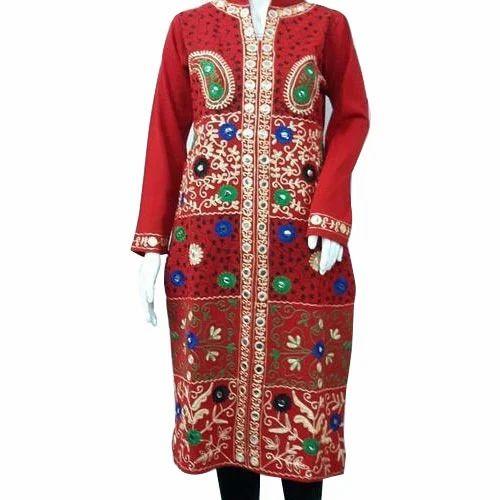 168f52989 Ladies Woolen Kurtis - Designer Woolen Kurti Manufacturer from Ludhiana