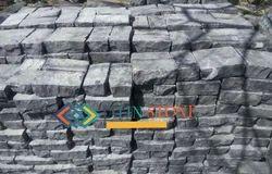Black Lime Stone Setts Cobbles