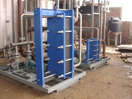 Crate Water Plate Heat Exchanger