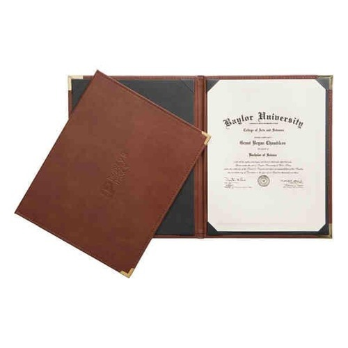 Leather Certificate Holder at Rs 235 /piece   Certificate Holders ...