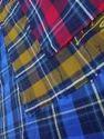Cotton Twill Checks Fabric, Gsm: 100-150