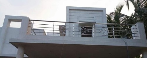 Panel 304 Indian Materials Stainless Steel Design Hand Railing