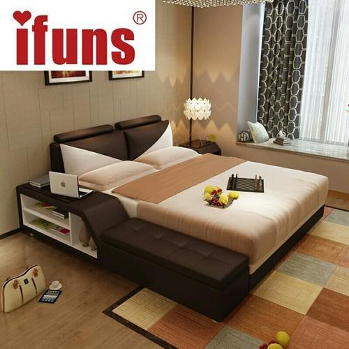 Bed Headboards & Upholster Bed with Side Storage Manufacturer from ...