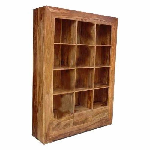 acacia wood showcase