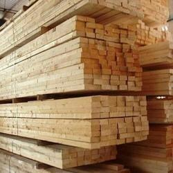 White And Natural Wood Raw Material