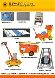 High Power Trimix Flooring Machine