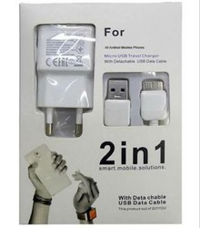 White Travel Mobile Chargers