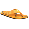 Orange Black Flip Flops
