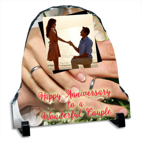 Photo Frames Happy Anniversary Personalized Stone Quotation