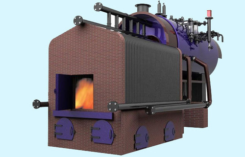 Smoke Cum Water Tube External Furnace Steam Boiler - Ross Boilers ...