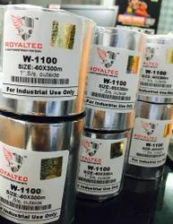 Royaltec Wax Resin WR-1100 Barcode Ribbons