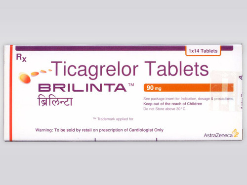 Ticagrelor Tablets, Packaging Size: 1x14, for Clinical