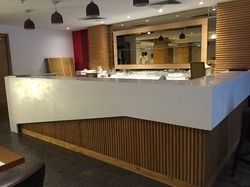 Acrylic Solid Surface Bar Counter
