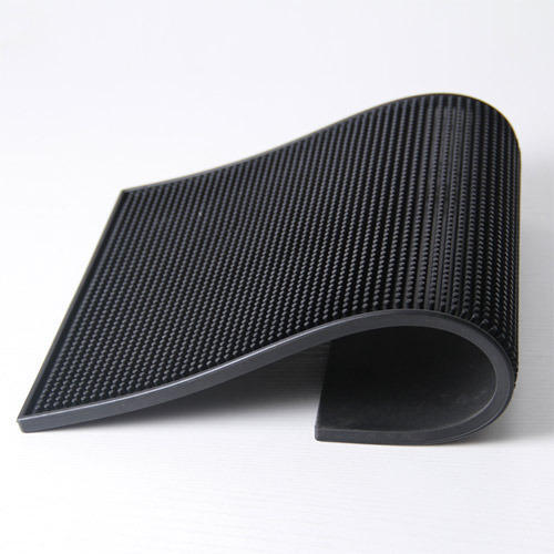 Plain Black Rubber Table Mat Rs 500