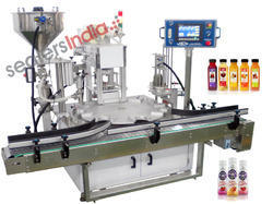 Plastic Bottle Filling, Sealing & Capping Machine