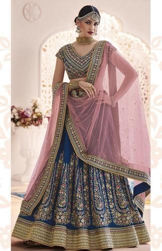 34755492cf40 Georgette Embroidered Designer Bridal Lehenga, Rs 2775 /piece | ID ...