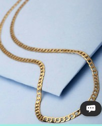 24 Carate Gold Plated Chain