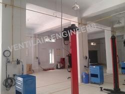 Industrial Pneumatic Welded Piping