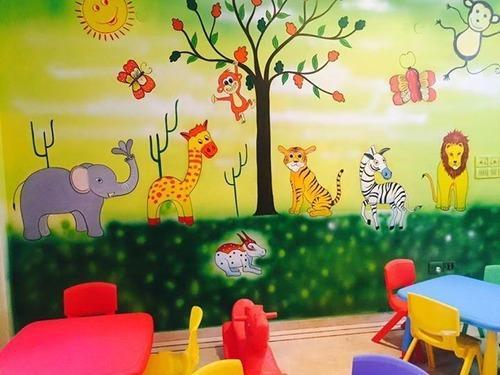 Wall Art Painting - Kids Class Room Wall Art Painting Manufacturer ...