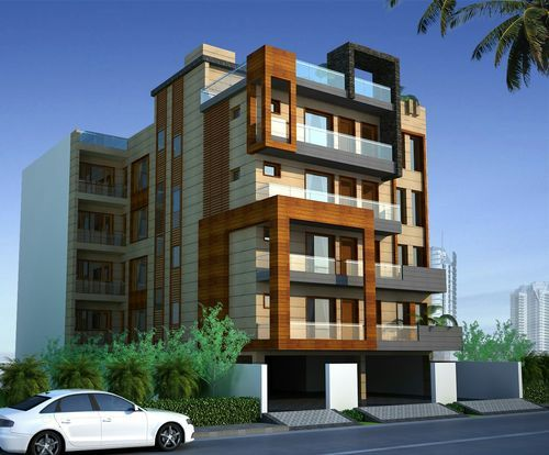 Residence exterior designing services