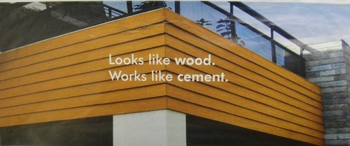 Cement Planked Exterior : Exterior interior cladding with cement wood planks shiv