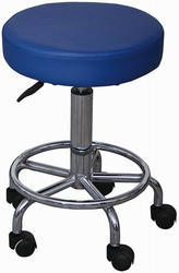 Lab Stool With Ring Type Foot Rest