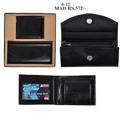 Gent's & Ladies Wallet Set