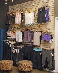 Slatwall Panel For Garment Store