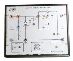 Circuit Breaker Using SCR