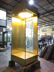 Penthouse Elevator with Two Side Glass Vision