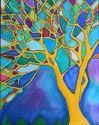 Multicolored Anu Glass Art