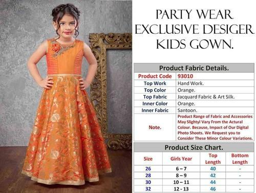 35cb11509f192 15 Party Wear Kids Gown