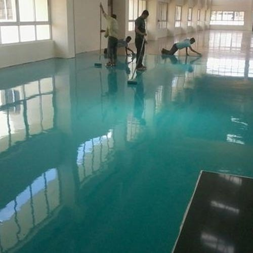 epoxy flooring services drying time 24 hours