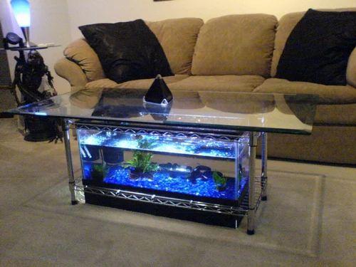 Aquarium Coffee Table.Coffee Table Aquarium