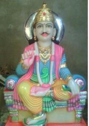 Chitragupt Marble Statue