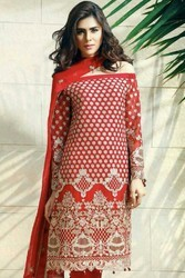 Unstitched Baroque Embroidered Bamber Chiffon Master Suits