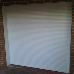Exterior Mild Steel Remote Controlled Rolling Shutter, For Office