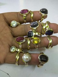 Adjustable Gemstone Ring