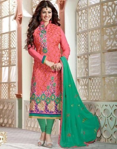 578aae23dd Chanderi Cotton Salwar Kameez Material, चंदेरी कॉटन ...