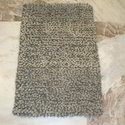 Grey Woolen Shaggy Rug