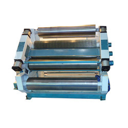 Pneumatically Controlled Single Facer Corrugation Machine