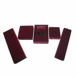 Merlot Velvet Jewellery Boxes