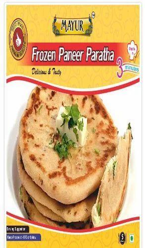Frozen Paneer Paratha | Mayur Foods | Manufacturer in