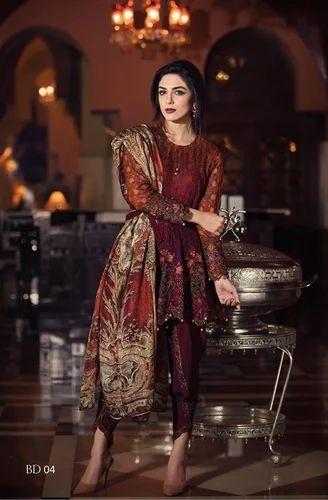 18eff7697 Maria.b Suits Online, Sarees, Lehenga And Salwar Suits | RJ Attire ...
