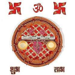 Diwali Pooja Thali N Diya  102