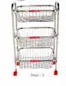 Stainless Steel Fruit Trolley