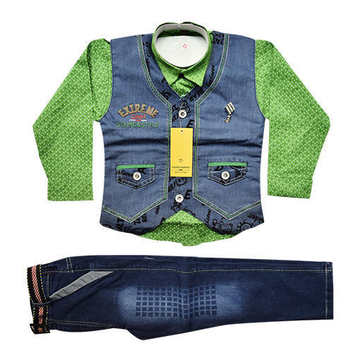 1e97c75d89a Boys Single Design In 3 Colors Silky Jacket Baba Suit