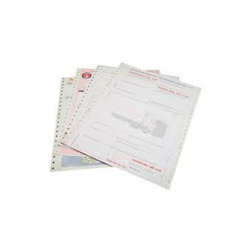 Pre Printed Continuous Computer Stationery Printing Service
