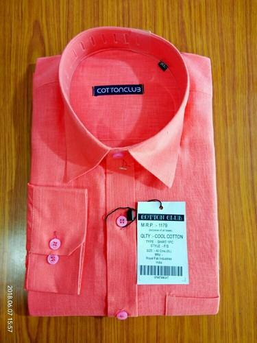 Cotton/Linen Formal Wear Men Formal Shirts