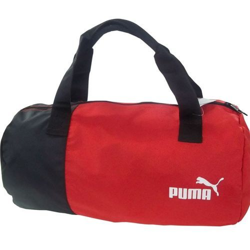 4b8969bd44 Nylon Mix Polyster Black And Blue Puma Gym Bag, Rs 499 /piece | ID ...